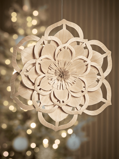 NEW Hanging Paper Flower