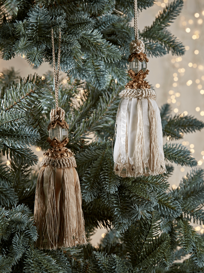 NEW Two Decadent Hanging Tassels