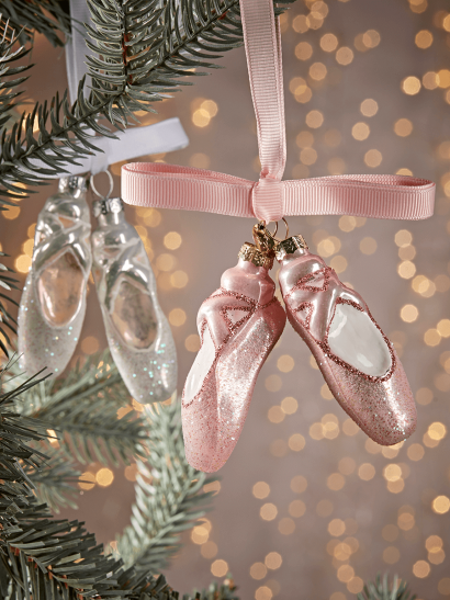 NEW Four Glass Ballet Shoes