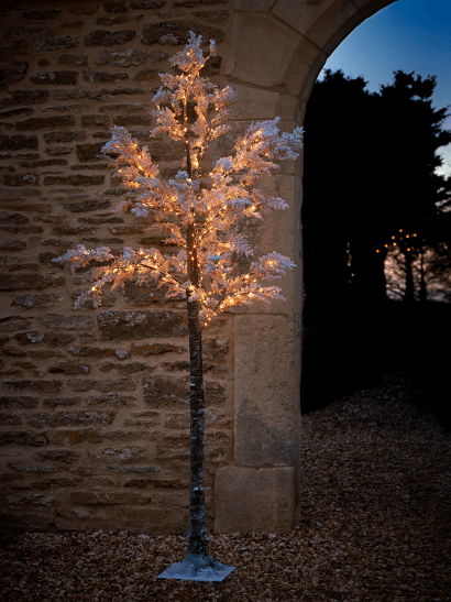 NEW Indoor Outdoor Large Light Up Blossom Tree - Soft White