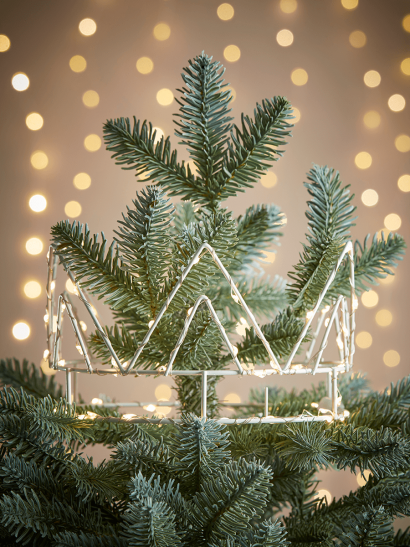 NEW Light Up Crown Tree Topper