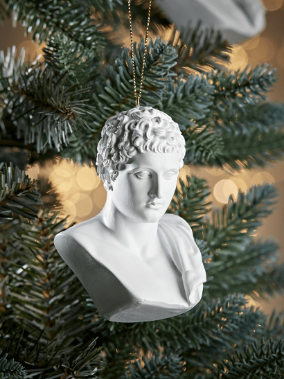 NEW Hermes Bust Bauble