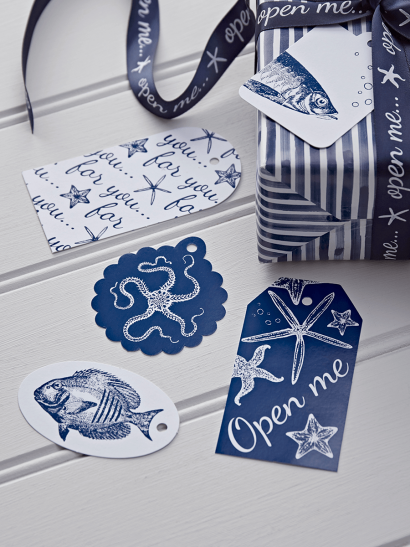 NEW Under The Sea Gift Tags