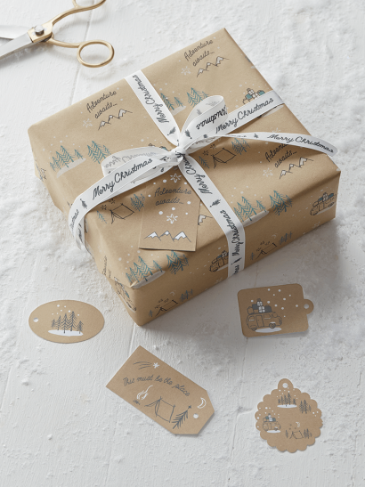 NEW Christmas Campervan Gift Tags