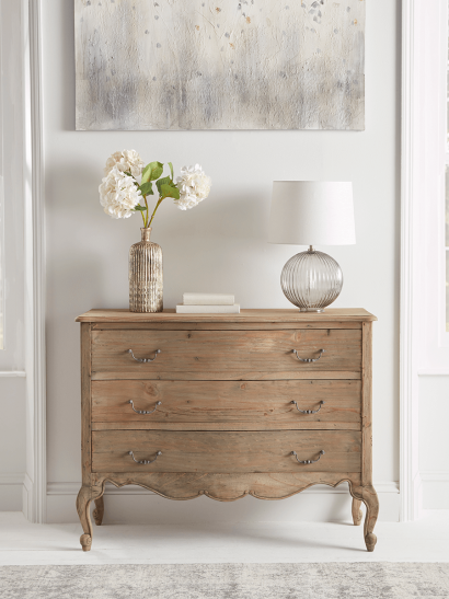 NEW Delphine Reclaimed Wood Chest of Drawers