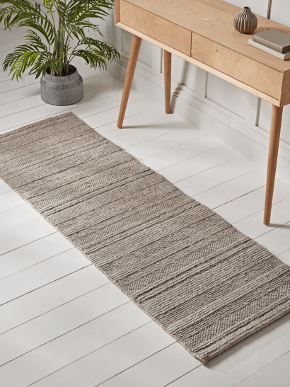 NEW Chunky Knit Textured Runner