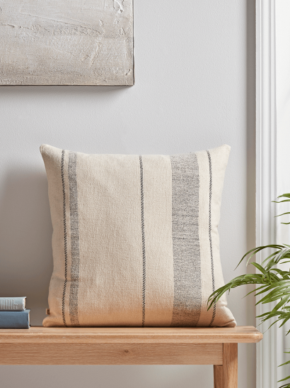 NEW French Striped Cushion - Square