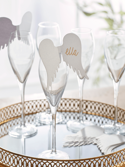 NEW Ten Angel Wing Place Name Cards