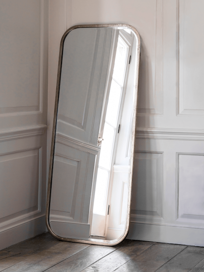 Burnished Silver Full Length Mirror