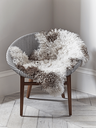 Curly Sheepskin - Natural