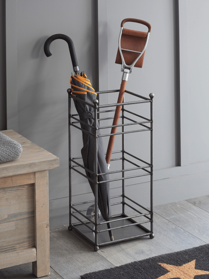 Industrial Metal Umbrella Stand