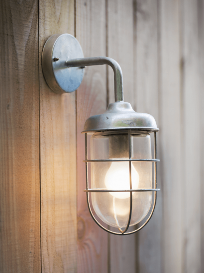 Outdoor Cage Light