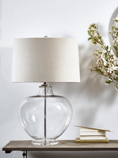 Edie Glass Table Lamp