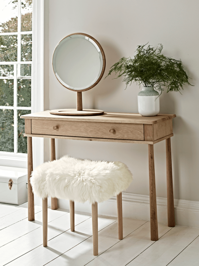 Bergen Oak Dressing Table - Natural