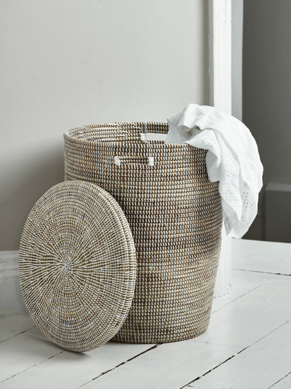 Handwoven Laundry Basket - Large