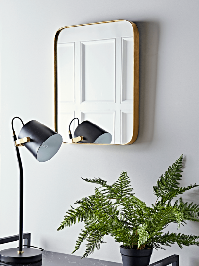 Aurum Brass Mirror