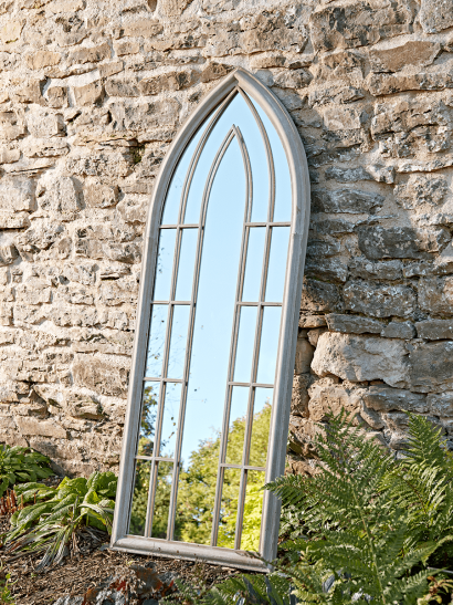 Folly Outdoor Mirror