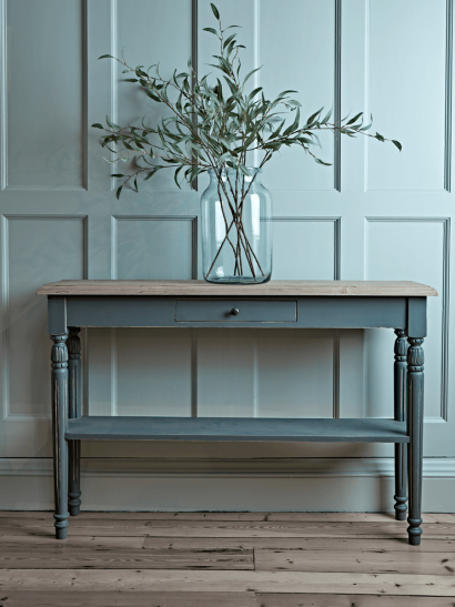 Toulon Console Table - Dark Grey