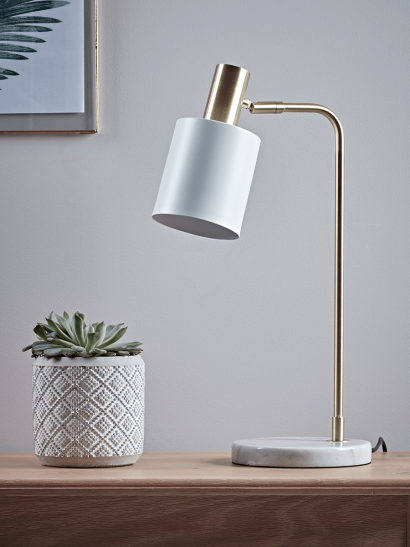 Hudson Desk Lamp - White