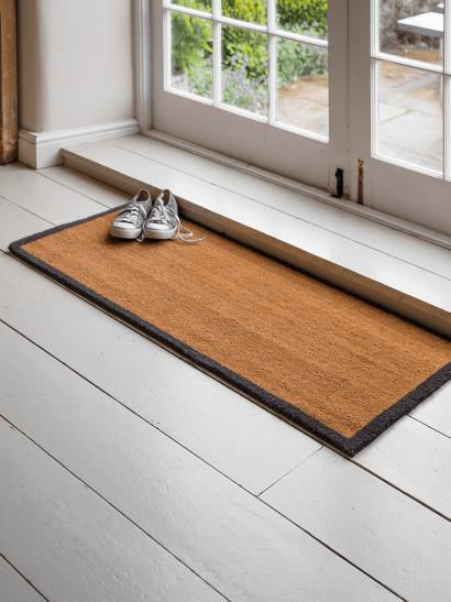 Wide Border Doormat - Double