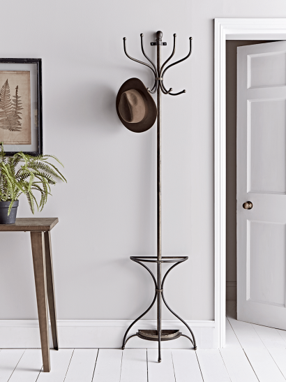 Wall Mounted Metal Coat Stand