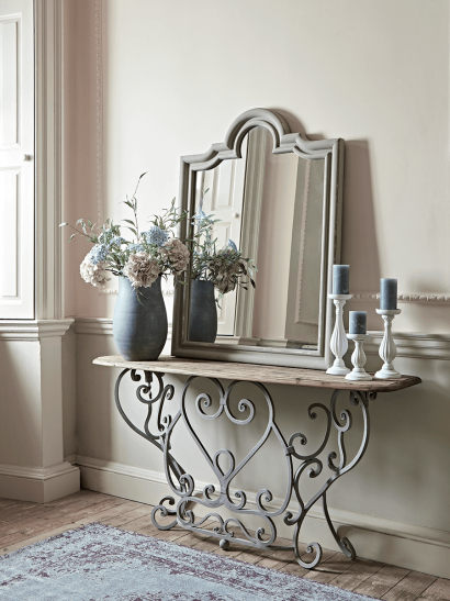Ironwork Console Table
