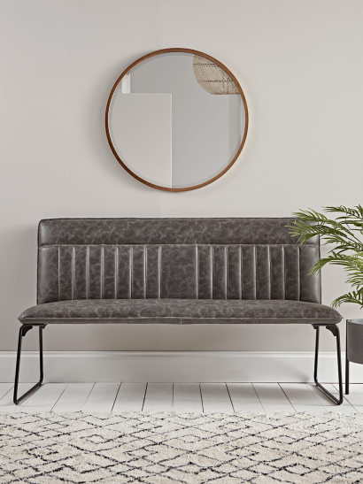 Alden Bench - Grey