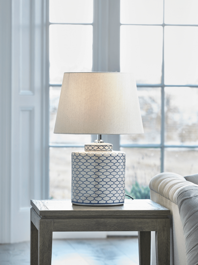 Blue Maroq Table Lamp