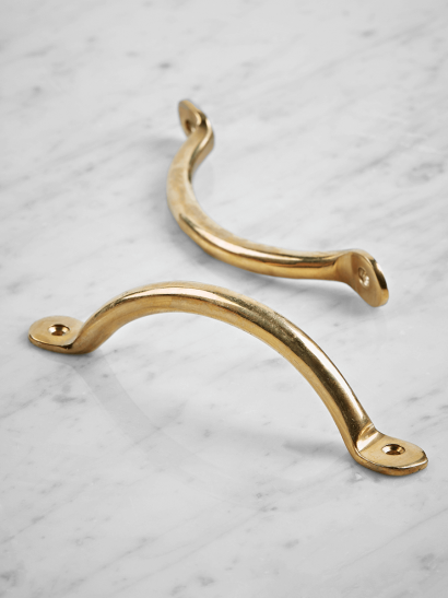 Bow Handle - Solid Brass