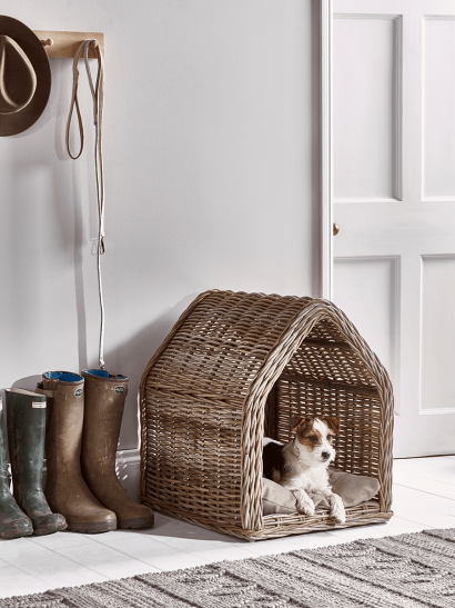 Rattan Pet House - Small