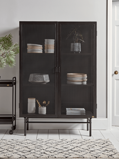 Iron Mesh Cabinet - Wide