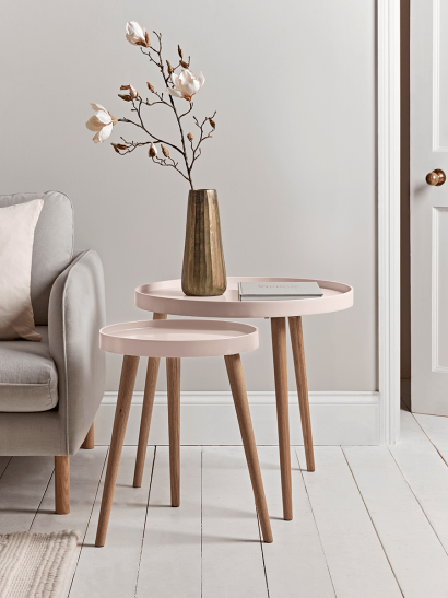 Small Mila Side Table - Blush