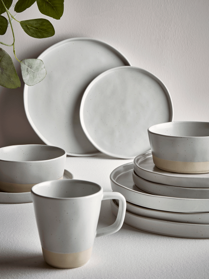 Six Speckled Mugs - Mineral