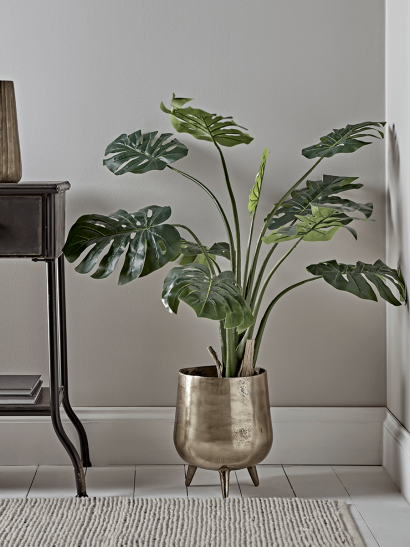 Faux Potted Monstera - Medium