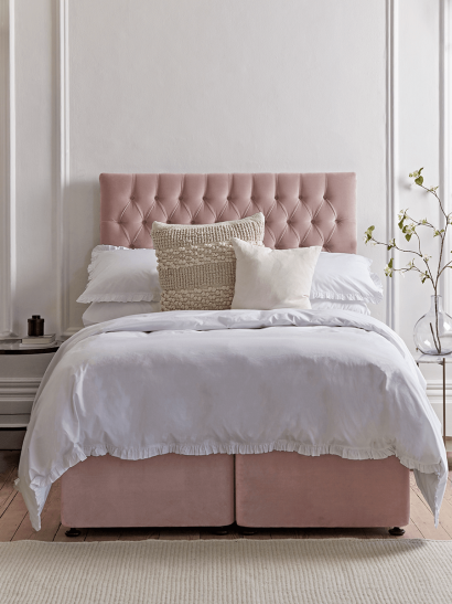 NEW The Buttoned Headboard