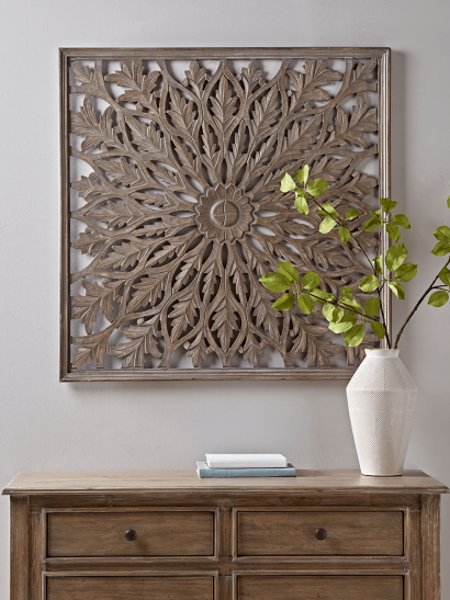 NEW Carved Wall Panel