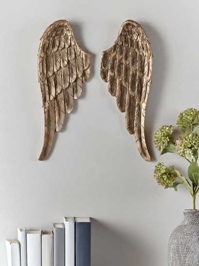 Gold Angel Wings - Small