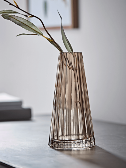 NEW Fluted Tapered Vase