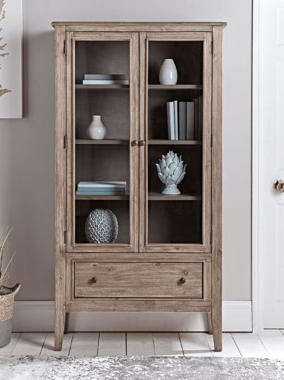 Camille Cabinet - Limewashed