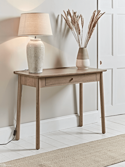 Fjord Oak Console Table