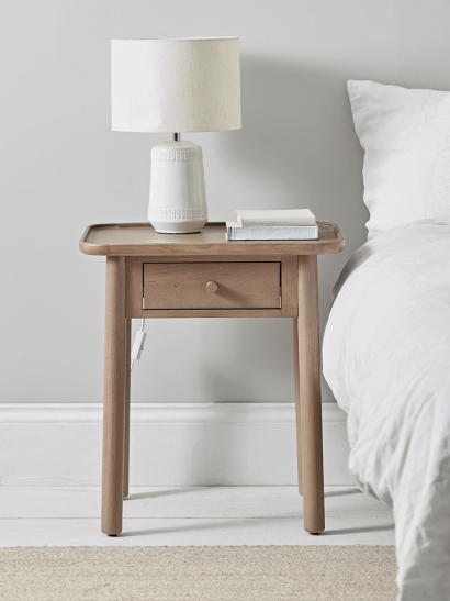 Fjord Oak Bedside Table
