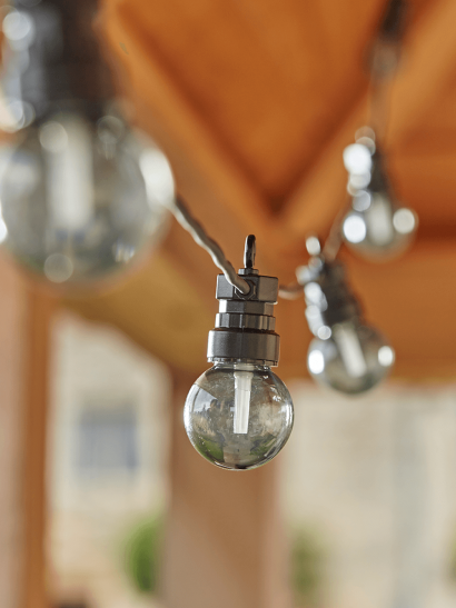 Grey Smoked Festoon Lights