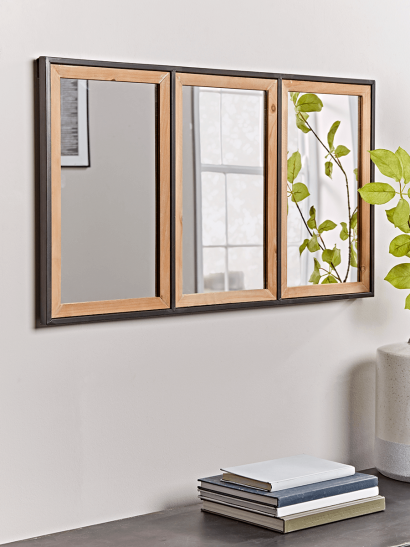 NEW Three Panelled Frame Mirror