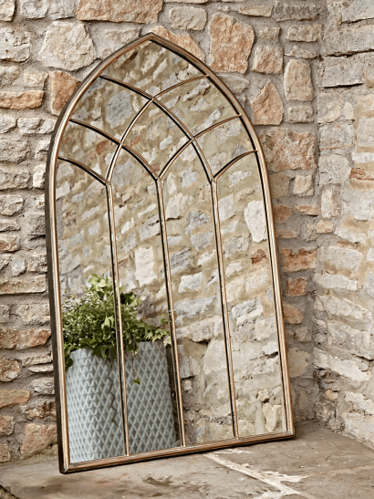 Elegant Outdoor Mirror