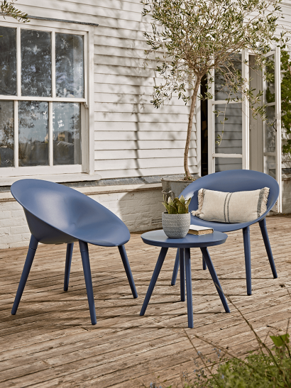 NEW Faro Bistro Set - Blue