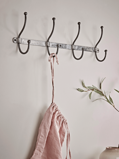 NEW Distressed Industrial Metal Hooks - Medium