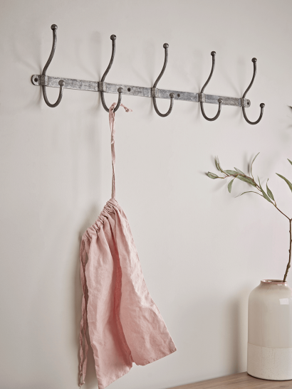 NEW Distressed Industrial Metal Hooks - Large