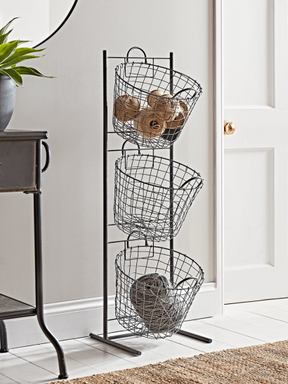 Standing Wire Storage Basket