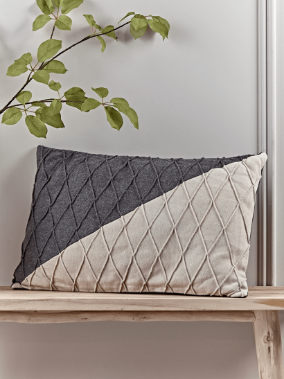 NEW Textured Diagonal Cushion