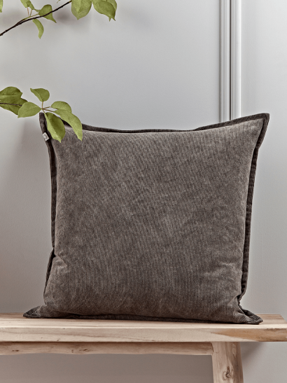 NEW Corduroy Cushion - Grey